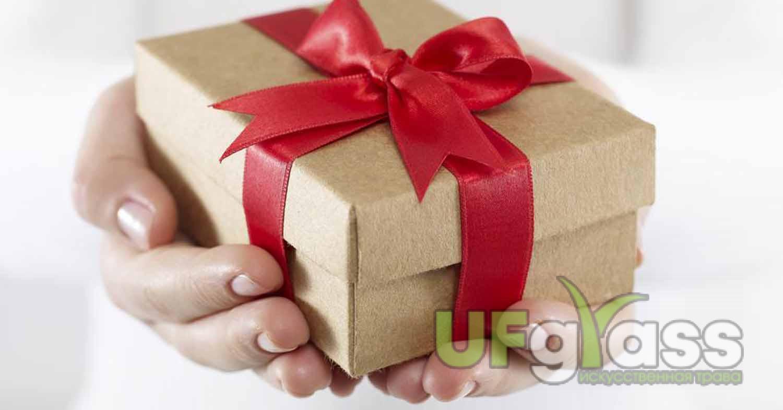 Шовная лента в подарок